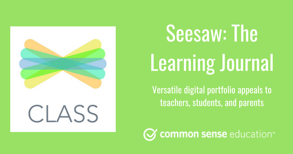 Seesaw: The Learning Journal Review for Teachers | Common