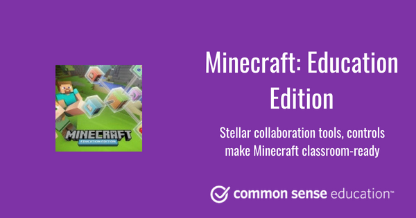 Minecraft: Education Edition Review for Teachers | Common