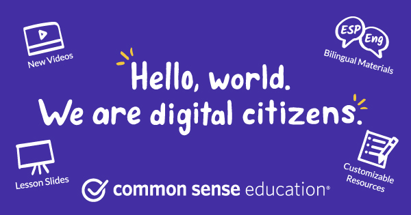 Digital Citizenship Curriculum | Common Sense Education