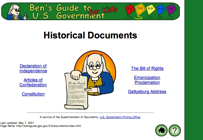 Ben's Guide to the U.S. Government: Free, Educational ...