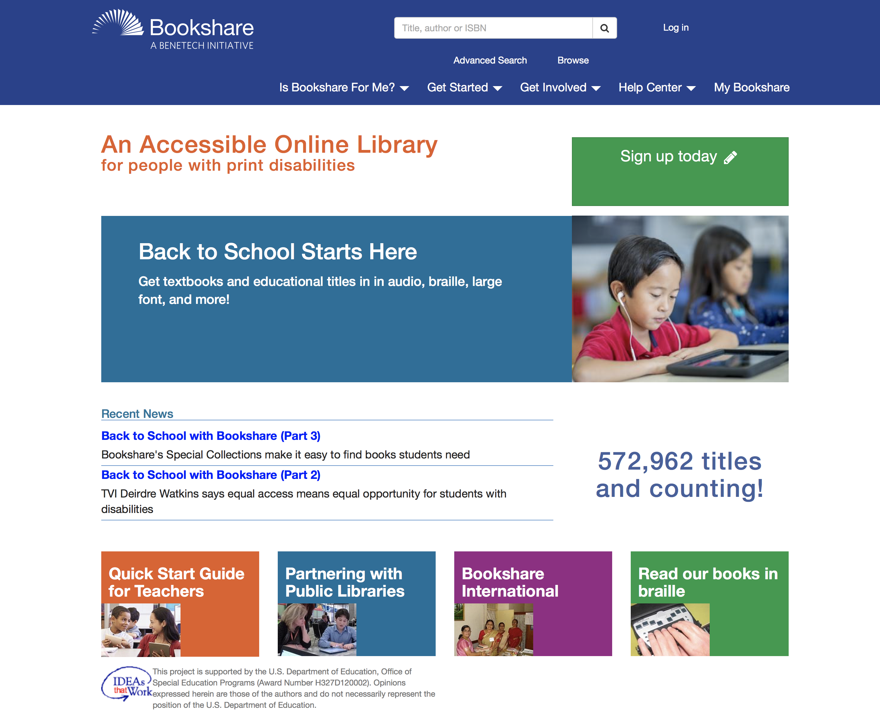 bookshare education sense common