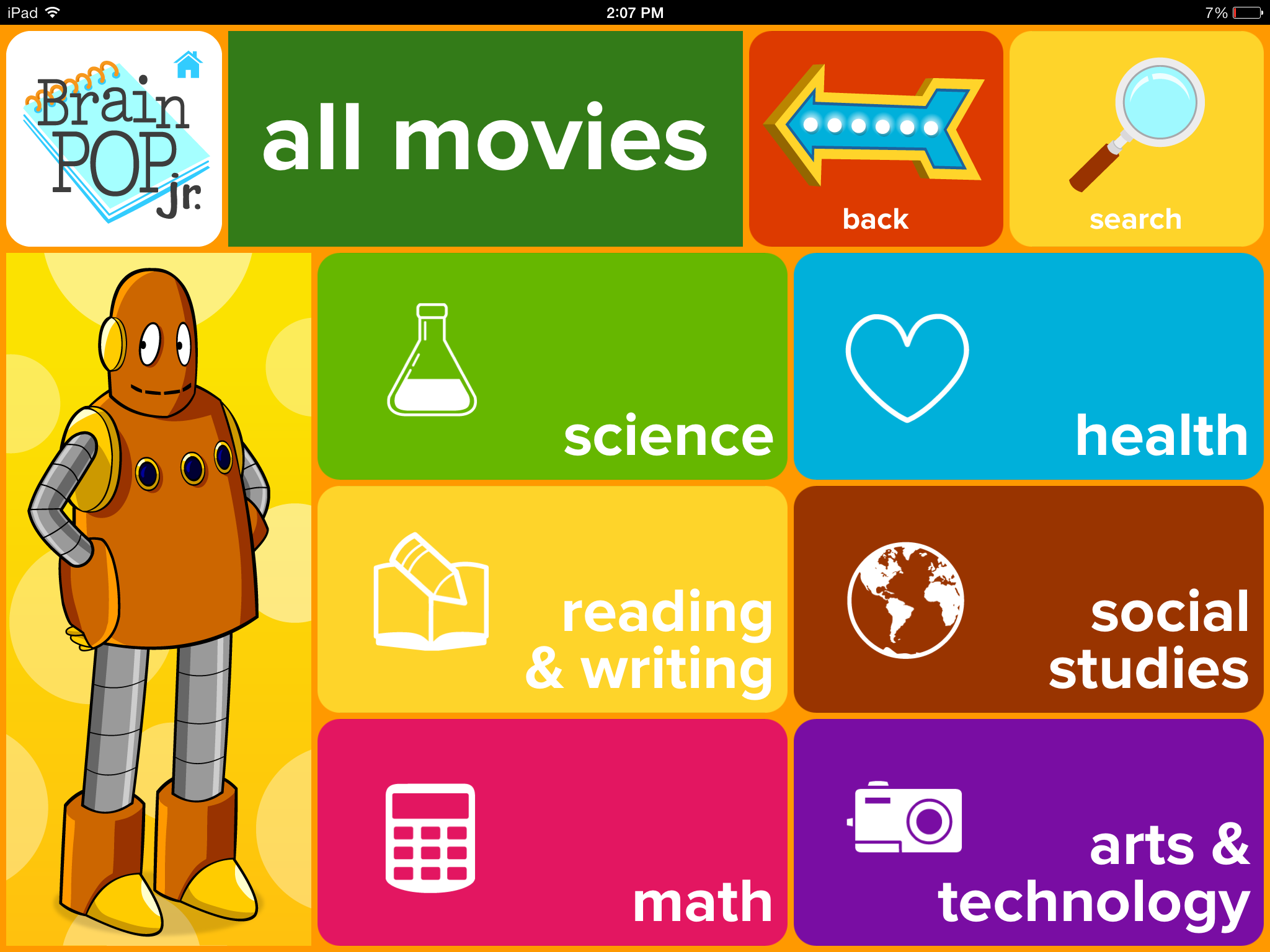 Brainpop Jr Movie Of The Week Review For Teachers Common Sense