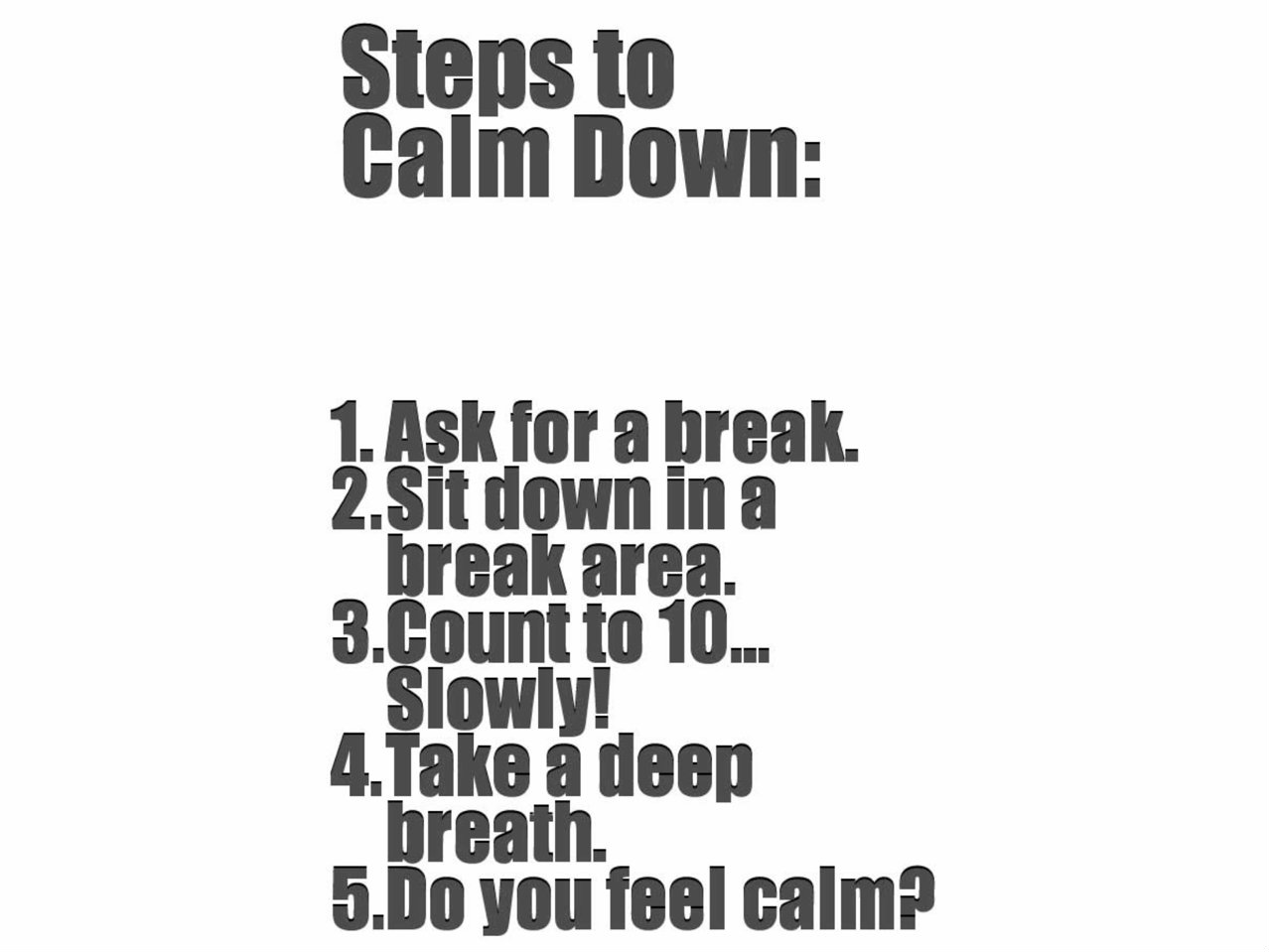 Calm Counter Social Story & Anger Management Tool Review