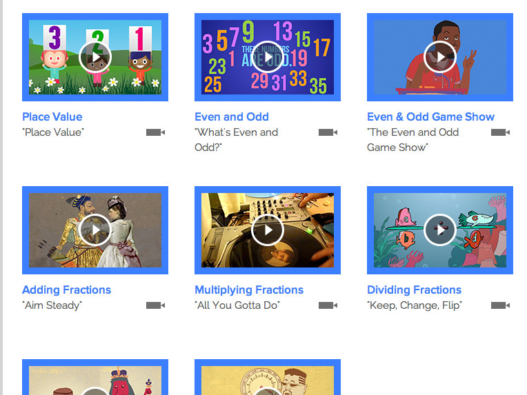 Flocabulary math review for teachers common sense education the subtopics under numbers and operations each have a song and video ccuart Choice Image