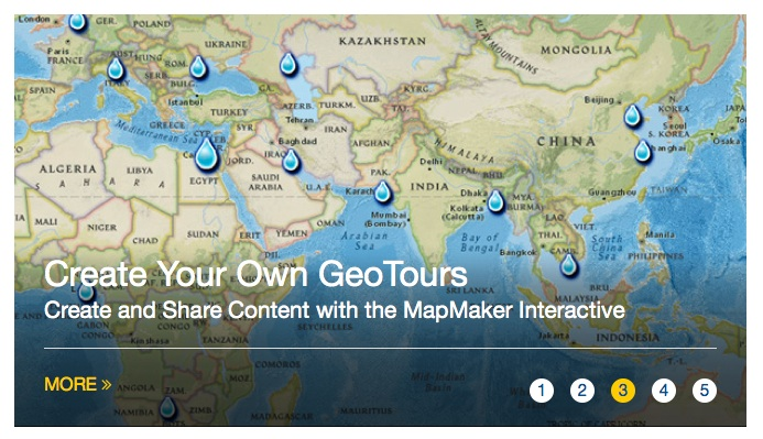 National geographic education maps review for teachers common use the sites interactive tools to create your own geotours gumiabroncs Gallery