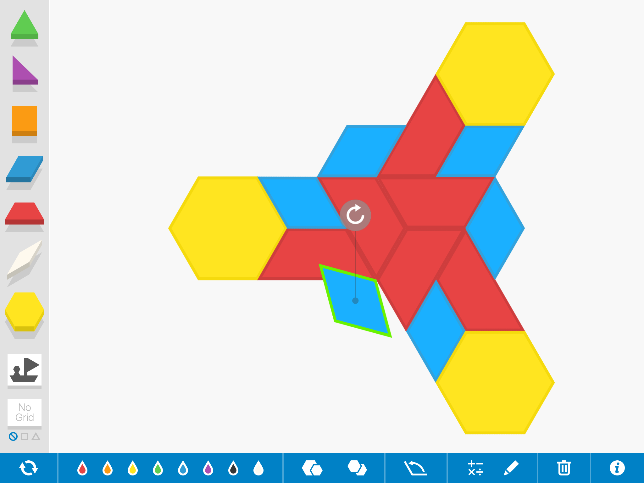 Patterns 1 - ABAB Pattern with Shapes &amp- Colors - The Kids'- Picture ...