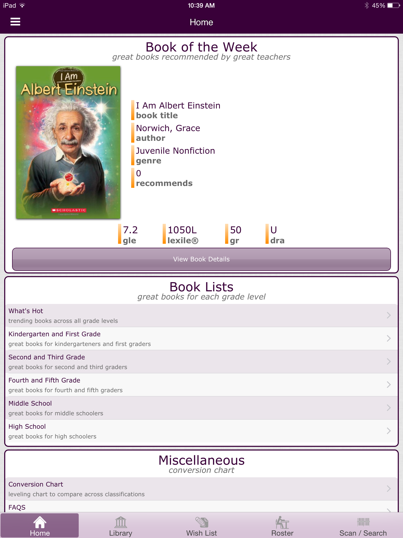 Level it books review for teachers common sense education digitally manage your real life library nvjuhfo Gallery