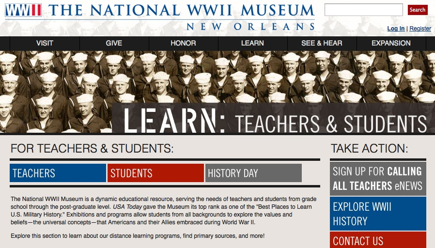 The National WWII Museum - New Orleans Review for Teachers
