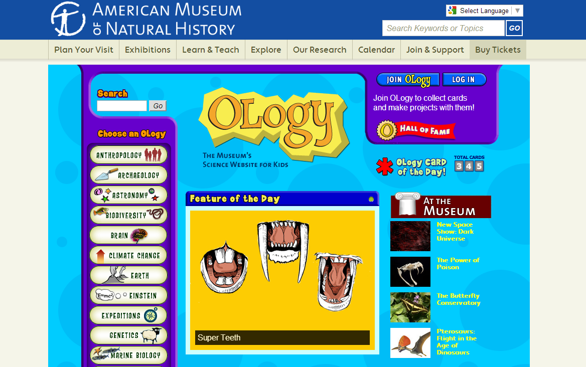 Ology Review for Teachers | Common Sense Education