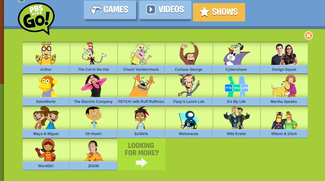 Pbs kids educator review common sense education Go to the website