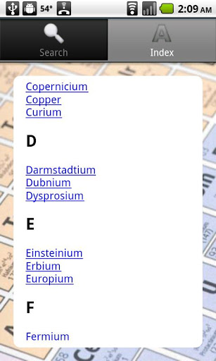Periodic table review for teachers common sense education the lookup section lets students search by name or browse the alphabetical listing opening menu for periodic table urtaz Image collections