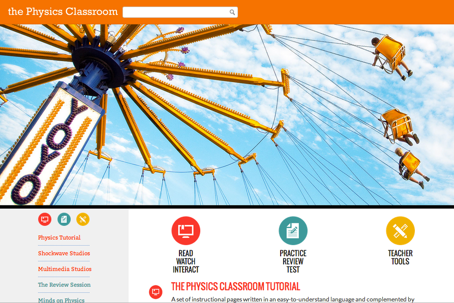 The Physics Classroom Review for Teachers | Common Sense