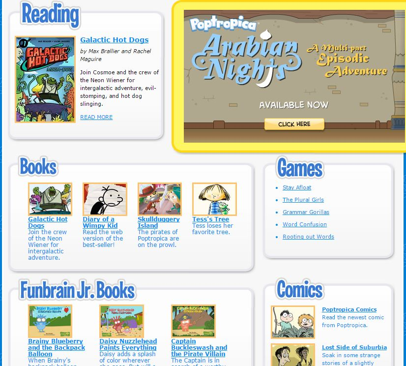 Which Website Good For Kid To Improve Reading