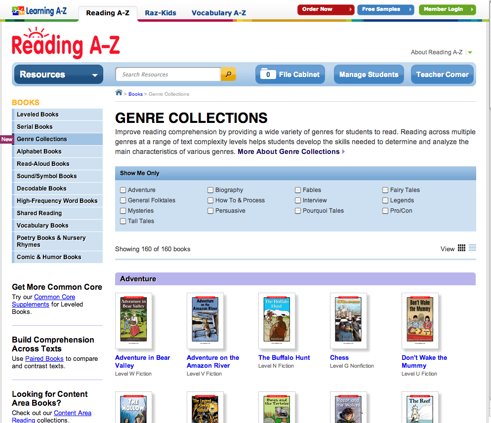 Reading a z review for teachers common sense education books are available in all genres nonfiction included geenschuldenfo Images