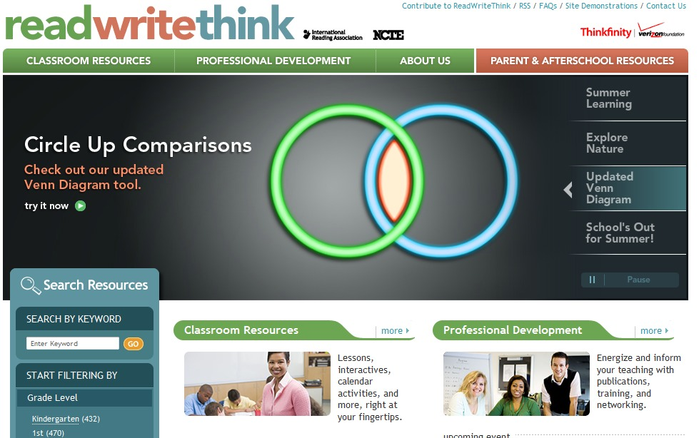 Readwritethink Review For Teachers Common Sense Education