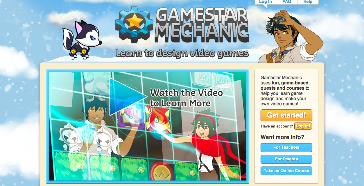 gamestar mechanic login