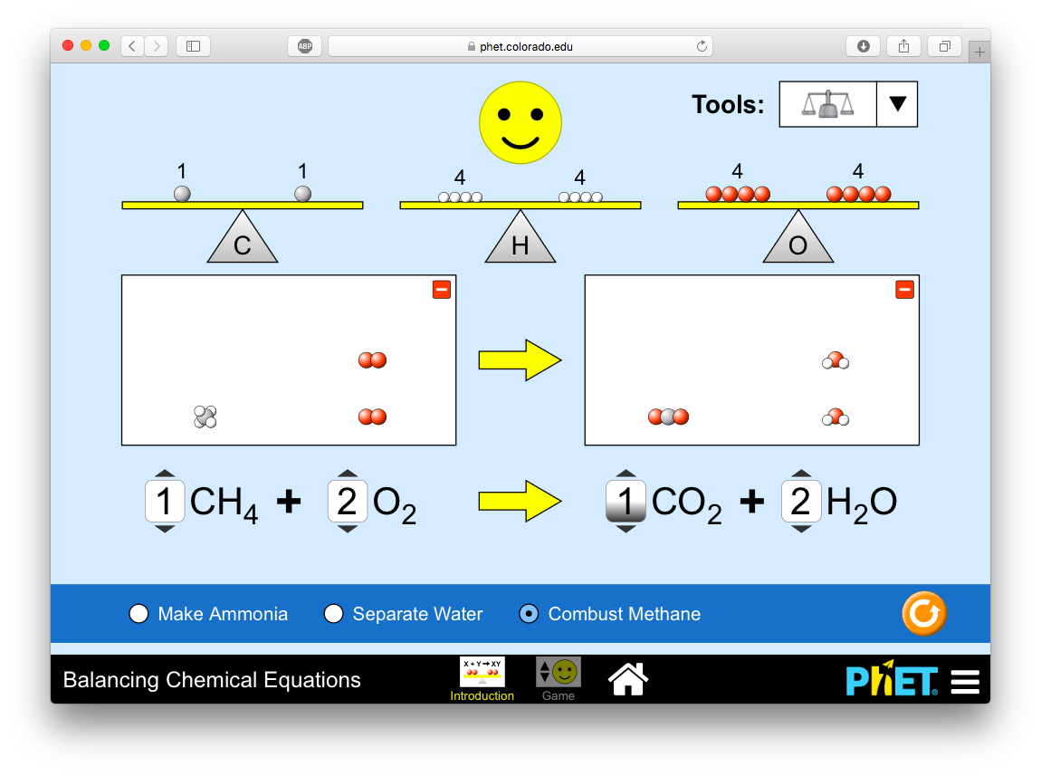 Phet Interactive Simulations Chemistry Review For Teachers Common