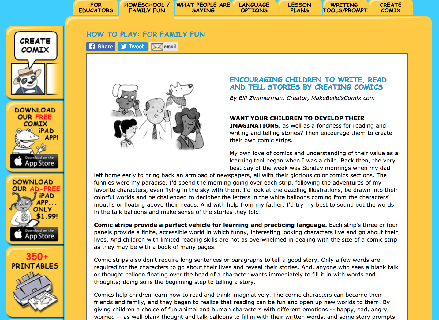 Make Beliefs Comix Review for Teachers | Common Sense Education
