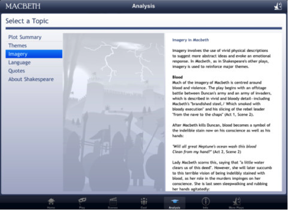 Shakespeare In Bits Macbeth Ipad Edition Review For Teachers