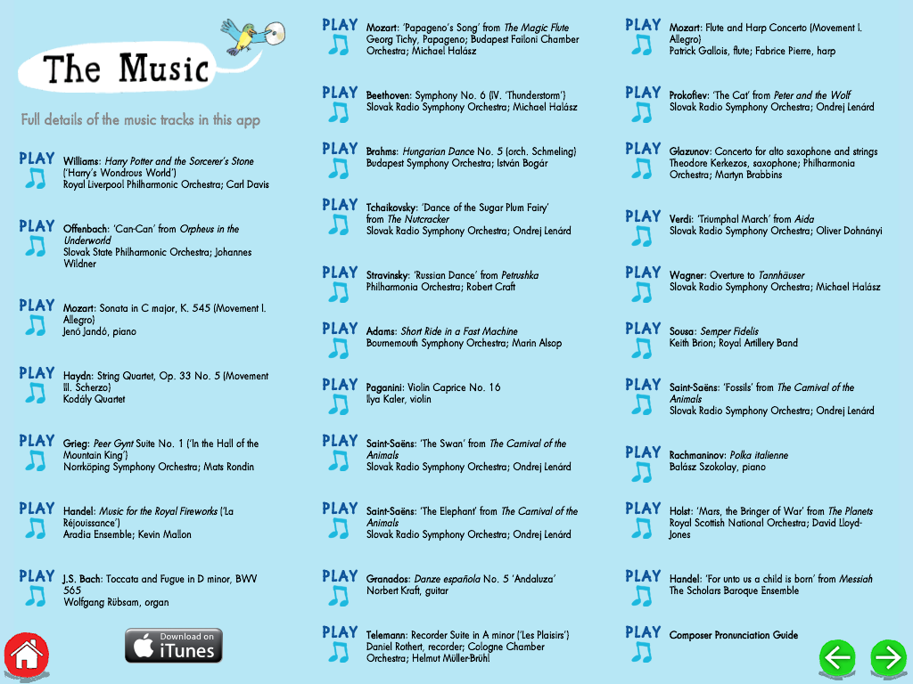 My First Classical Music App HD Review for Teachers | Common Sense Education