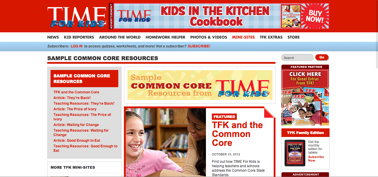 Time For Kids Review For Teachers Common Sense Education