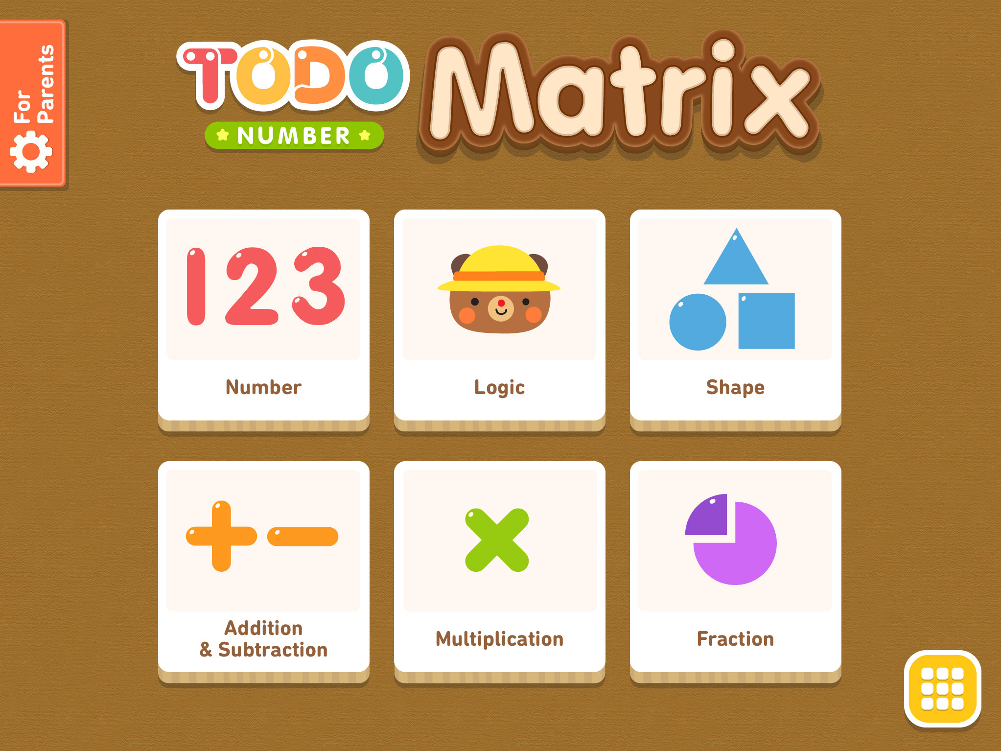 Todo Number Matrix: Brain teasers, logic puzzles, and