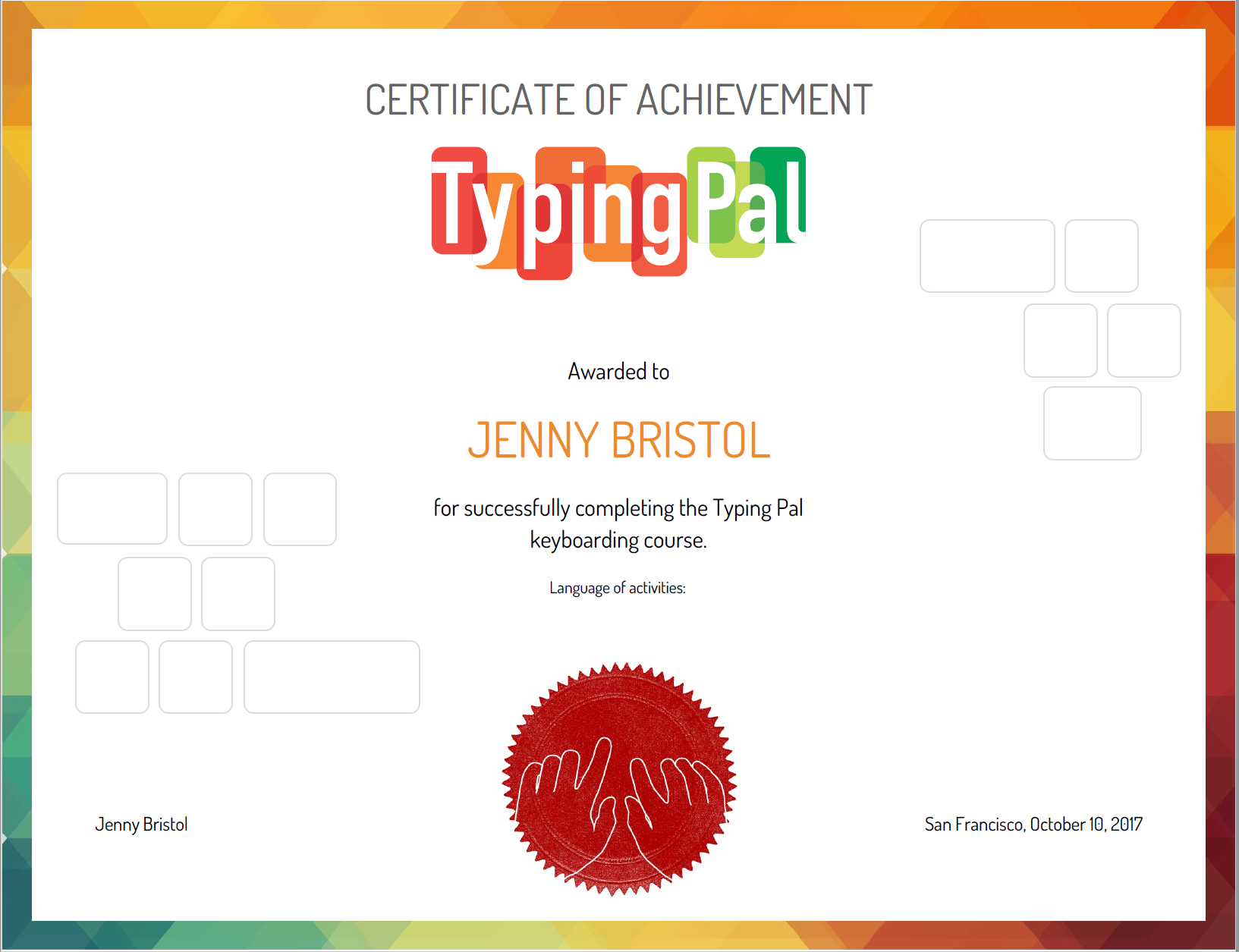Typing Pal Review For Teachers Common Sense Education
