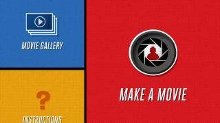 The tool has three sections: Make A Movie, Movie Gallery, and Instructions.
