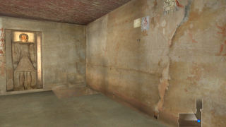 Virtual recreations accurately portray the tombs.