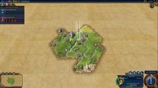 Typical start in Civilization VI.