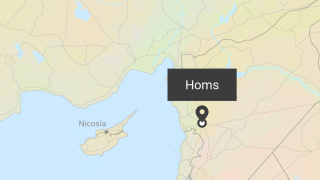 Keep track of Nour's progress by visiting a map of the Middle East and Europe.