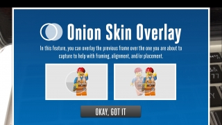 A helpful tutorial explains the onion-skinning feature.