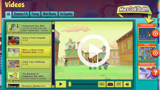 In the Thirteen Ed Online Students section, kids can access educational PBS sites and games such as Cyberchase.