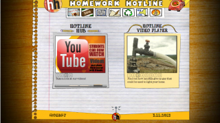 The Homework Hotline offers videos for many subjects.