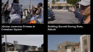 The Index section has hundreds of video footage clips organized into five columns.