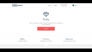 The Ruby module offers a 9-hour course in this basic programming language.