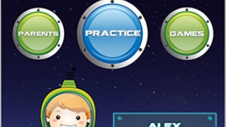 Kids will find navigation easy with this colorful, well-organized app.