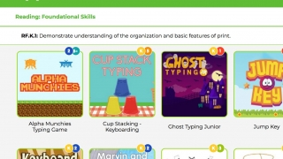 Search for games by individual Common Core standards.