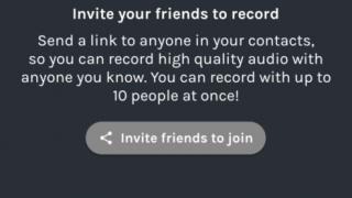 Record up to 10 people at once.