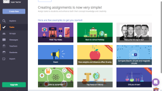 Teachers can assign pre-made lessons and videos that let students make small tweaks.