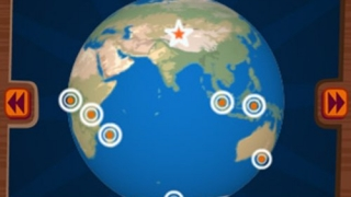 Players are free to explore regions from around the world.