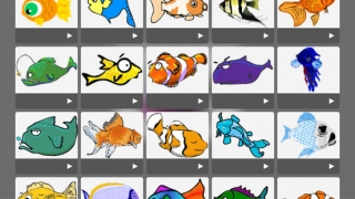 There's an extensive library of images, backgrounds, and animations; students can also draw their own.