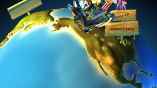 Ansel and Clair look to land in America in 1775.