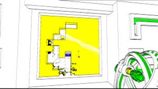 Move colored cubes around to unlock doors, make pathways, and solve puzzles.