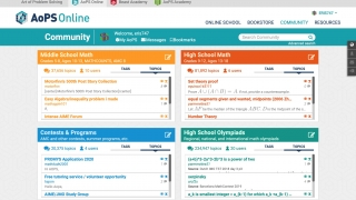 The forum contains over eight million posts on topics for all areas of math.