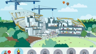 In this Where's Waldo-like game, kids learn about the different roles involved in the life of this building.