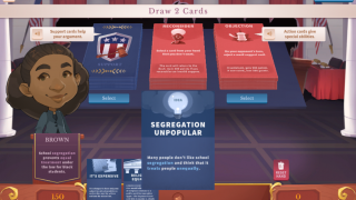 Choose cards that will help you make your case.