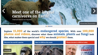 ARKive contains high quality videos and images of the world's endangered species.