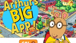Tap GO! to enter Arthur's World or tap Reset Game to clear progress.