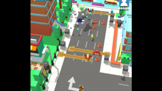 Solve puzzles and run through streets while reviewing math concepts.